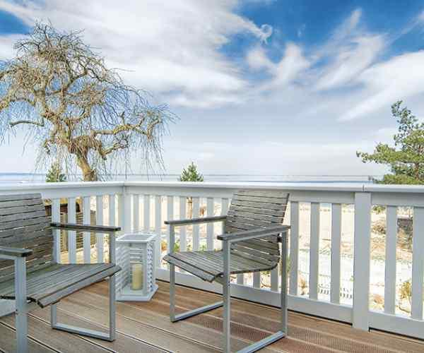Aussicht Meer Balkon
